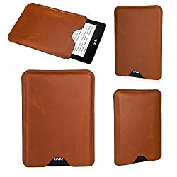 Bear Motion ® Premium Slim Sleeve Case Cover for Kindle Voyage - Brown