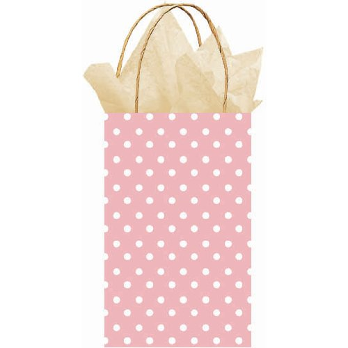 Party Bag - Polka Dot (Light Pink with Dots) Party Accessory