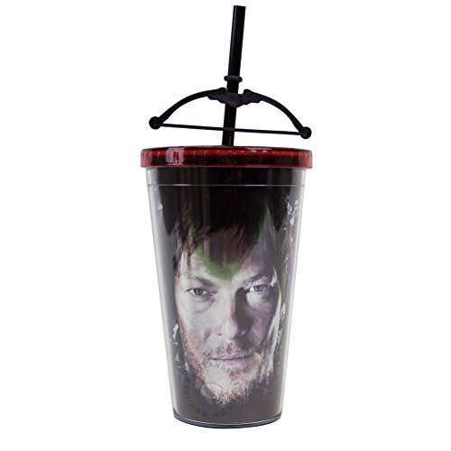 Walking Dead Crossbow Tumbler Carnival Cup with Crossbow on Straw