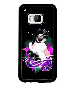 PRINTSWAG MUSIC GIRL Designer Back Cover Case for HTC ONE M9S