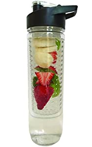 Buy Infuser Water Bottles made from BPA Free Tritan Plastic. Large Infusion 28 Ounce... by Hi-drate H2o