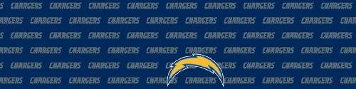 San Diego Chargers Team Auto Visor Decal