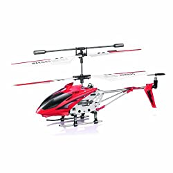 [Best price] Grown-Up Toys - Syma S107/S107G  R/C Helicopter with Gyro- Red - toys-games