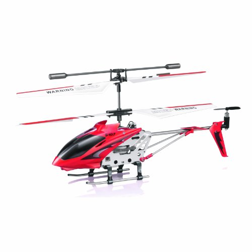 Syma S107/S107G  R/C Helicopter with Gyro- Red (Mini Rc Helicopter Blades compare prices)