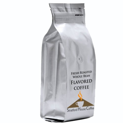 Cinnamon Sweet Potato Swirl Flavored Whole Bean Coffee 1 lb. Bag Image