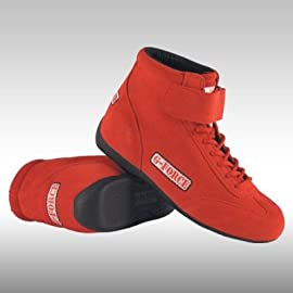 G-Force 0235110RD GF235 RaceGrip Mid-Top Shoes Red Size 11