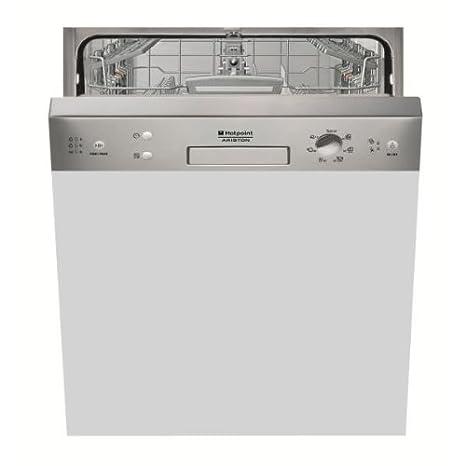 Hotpoint LSB 7M 116 X EU lave-vaisselle - laves-vaisselles (Semi intégré, A, A+, Blanc, boutons, Rotatif, Delicate, Intensif, Normal)