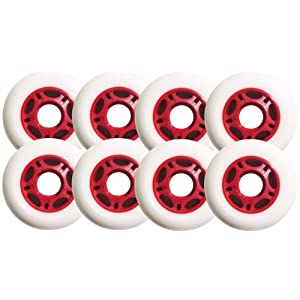 8 ASPHALT HOCKEY FORMULA Inline Skate Wheels 76mm 89a