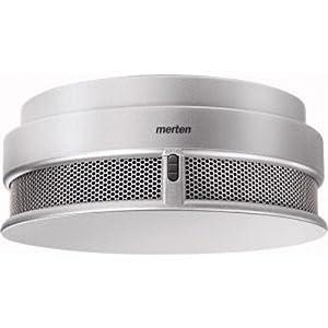 Merten 548060 ARGUS Rauchmelder Connect, aluminium  BaumarktKritiken und weitere Infos