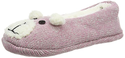 Totes Women's Novelty Footsies Slipper Socks,