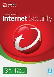 Trend Micro Titanium Internet Security 2014 3 Users