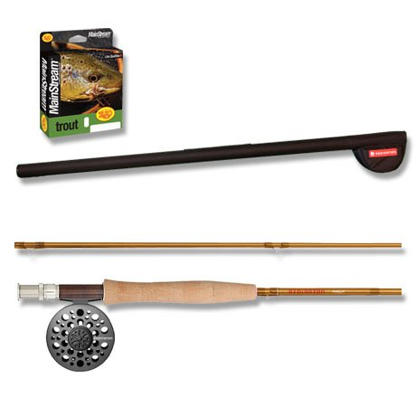 Redington Pursuit 4 pc Fly Fishing Outfit 480-4