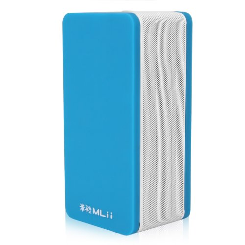 Mlii Blue Portable Mini Bluetooth Speaker Bluetooth 4.0 Call Function Mic Hands-Free For Iphone Ipad Samsung Pc Laptop