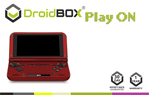DroidBOX PlayOn RED GPD XD Fully Loaded Gamepad Handheld 5
