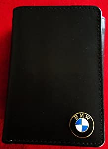 Bmw Tri-fold Italian Leather Wallet