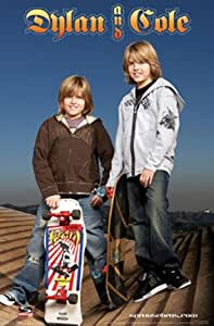 Amazon.com: Dylan and Cole Sprouse Skateboards Poster: Prints: Posters