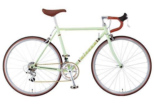 MIYATA(ミヤタ) 2015年モデル Freedom Sports(フリーダムスポーツ) 700×28C クロモリフレーム 前2×後ろ7段変速 (OG55:ライムパールグリーン, 52cm)