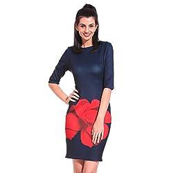 Saiints Poly Cotton Women Dress,Small