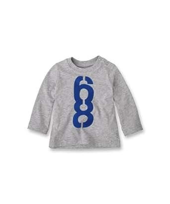 Esprit Baby - Jungen Shirt 093Eebk003, Gr. 68 (6 Monate), Grau (086 Stone Grey Melange)