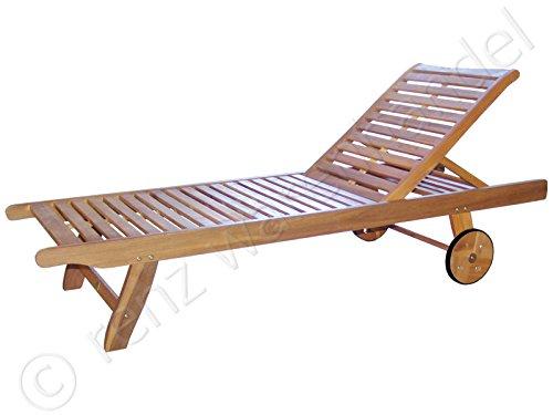 gartenm bel hartholz sonnenliege auckland mit rollen eukalyptus rollliege online bestellen. Black Bedroom Furniture Sets. Home Design Ideas