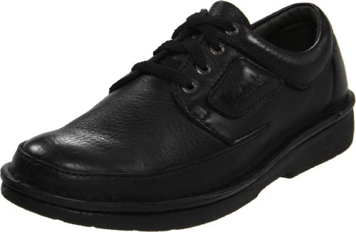 Clarks Men's Natureveldt Oxford,Black,10.5 M US