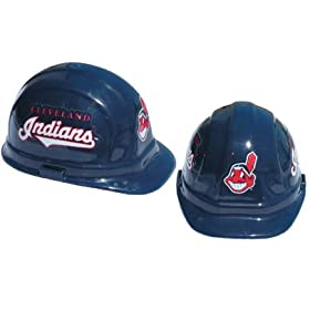 Cleveland Indians - MLB Team Logo Hard Hat Helmet by Tasco