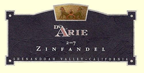 2007 C. G. Di Arie Flagship Wine Zinfandel, Shenandoah Valley