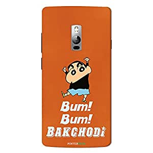PosterHook Bum Bum Bakchodi - Funny OnePlus 2 Designer Case