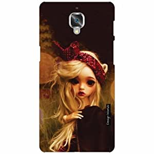 Design Worlds OnePlus 3 Back Cover - Doll Designer Case and Covers