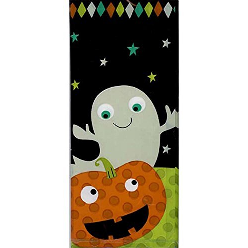Wilton 1912-9472 Ghost Party Bag (Homemade Halloween Candy For Kids)
