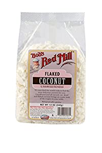 Bob's Red Mill Flaked Coconut Unsweetened,  4 - 12-Ounce Bags
