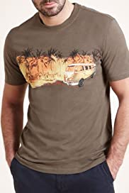 North Coast Pure Cotton Camper Van T-Shirt [T28-3369N-S]