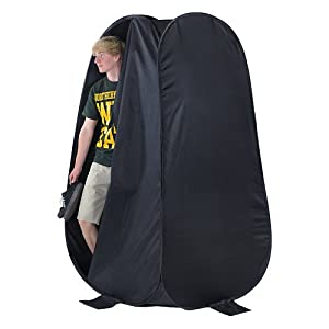 """Fotodiox Collapsible Portable Indoor/Outdoor Changing Room, 6'4"""" Tall, 3'6""""x3'6"""" Base, Pop-up Dressing Tent"""