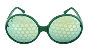 Elope Bug Eye Glasses - Green