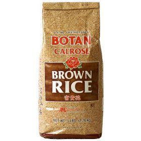 Amazon.com : BOTAN Calrose Brown Rice, 5-Pound : Brown
