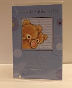 ON YOUR FIRST FATHER'S DAY GREETINGS CARD. DADDY'S 1ST FATHER'S DAY. ON YOUR FIRST FATHERS DAY