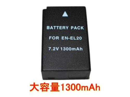 ◆新品 ニコンNikon EN-EL20◆互換バッテリー◆Nikon 1 J1/J2/J3/S1