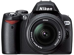 Nikon D40X Appareil photo numérique Reflex 10.1 Kit Objectif AF-S DX II 18-55 mm Noir