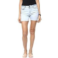 Gofab Stretchable Denim Shorts