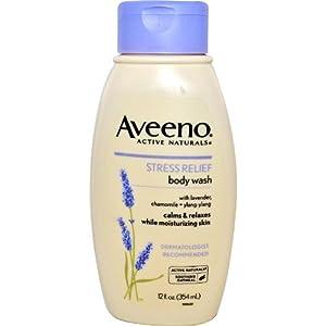 Aveeno Stress Relief Body Wash 12 fl oz de HealthCentre en BebeHogar.com