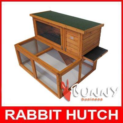 4ft Drop Hutch and Run Rabbit / Guinea hutches runs BB-48-DRH