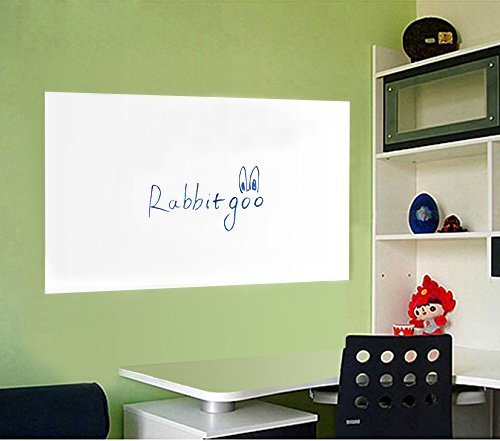 rabbitgoor-self-adhesive-whiteboard-chalkboard-sticker-wall-contact-paper-45x200cm-white-with-1-free