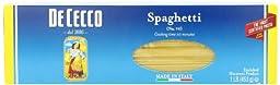 De Cecco Pasta, Spaghetti, 16 Ounce (Pack of 5)