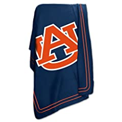 Brand New Auburn Tigers NCAA Classic Fleece Blanket by Things for You