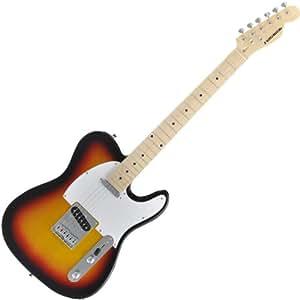 PLAYTECH プレイテック エレキギター TL250 Sunburst Maple