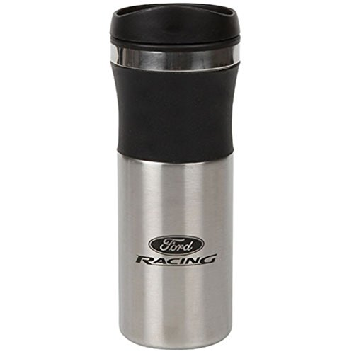 Genuine Ford Racing Stainless Steel Tumbler Travel Coffee Mug
