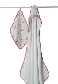 aden + anais Muslin Hooded Towel & Wa…