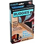 Allstar Marketing Group RU011132 Ruggies Nonslip Rug Gripper - As Seen On TV Pack of 8