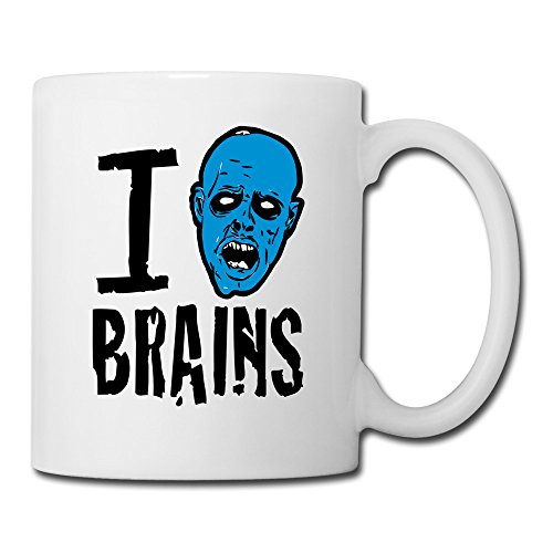 Flyfish Funny I Love Zombies Coffee Mugs With Lids Mugs That Change With Heat For Men & Women Drinking Cuppa