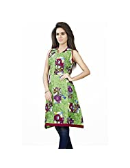 Mutli Color Cotton Printed Kurti